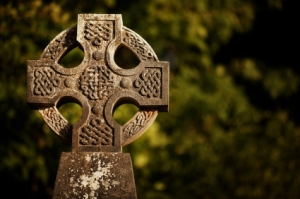 Celtic Solar Calendar Cross