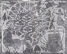 Wu_liang_shrine_relief_depicting_xihe,_yi,_and_fusang_tree